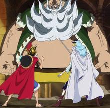 Luffy y Cavendish vs Chinjao