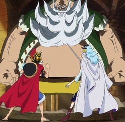 Luffy y Cavendish vs Chinjao