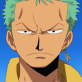 Zoro Pre Timeskip Anime Portrait