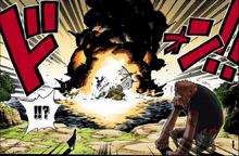 Акаину отдаёт приказ уничтожить корабль1