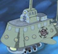 Kapal Selam Bajak Laut Hati