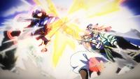 Oden's and Whitebeard's Haoshoku Haki Clash