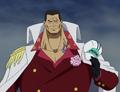 Sakazuki sans sa casquette (Anime)