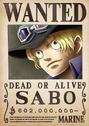 Cartel de recompensa de Sabo