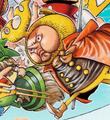 Kabu Coloré dans le Manga