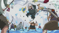 Lacroix Battles Whitebeard Pirates