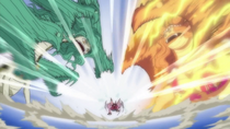 Luffy Defeats Gorgon Sisters