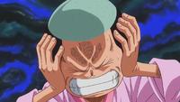 Momonosuke entendant la voix de Zunesha