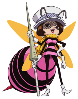 Mushi Mushi no Mi, modèle Guêpe Forme Hybride Anime Infobox