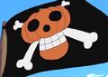 Pirates a la Citrouille Jolly Roger