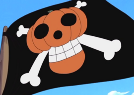 Pirates a la Citrouille Jolly Roger