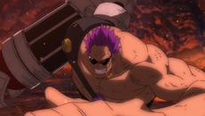 Última batalla de Zephyr vs Luffy