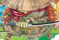 Kawamatsu en el manga a color