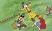 Chopper, Luffy, and Usopp Meet Tonjit
