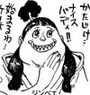Jinbe as a Female