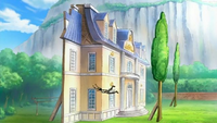 Manoir Luigia façade