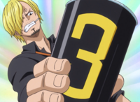 Sanji's Raid Suit Canister