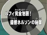 Luffy Kanzenhōi! Teitoku Nelson no Hisaku