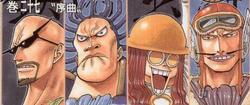 4 Prélats Manga