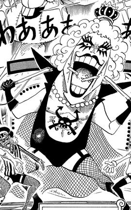Emporio Ivankov Manga Infobox