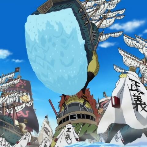 Odr Junior solleva una nave da guerra della Marina