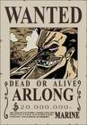 Poster Buronan Arlong
