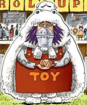 Wapol's Shopkeeper Outfit in Colored Manga