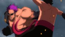 Battle Luffy vs. Zephyr