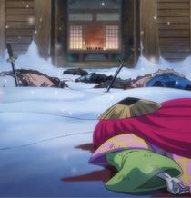 Kanjuro derrotado