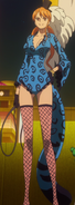 Nami Film Gold Outfit 4