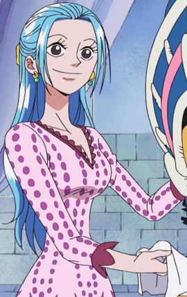 Nefertari Vivi Anime Debut Infobox
