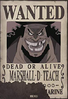 Teach's Full Image Wanted Poster