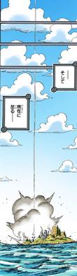 Кайдо падает с Небесного острова