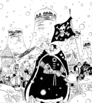 Dalton and Drum Citizens Reconstructing Sakura Kingdom