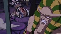 Hannyabal Captures Buggy and Galdino