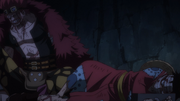 Luffy and Kid Imprisoned