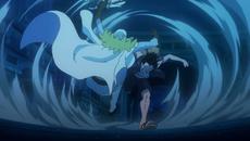 Luffy derrota a Spandam