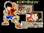 Monkey D. Luffy en Super Grand Battle! X