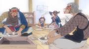 Odama, Kodama y sus padres