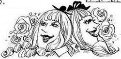 SBS 86 Laura et Chiffon dessinées par Carrot