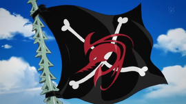 Arlong Pirates Flag