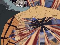 Luffy Mengalahkan Crocodile Dengan Gomu Gomu no Storm
