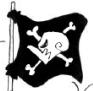 Macro Pirates' Jolly Roger