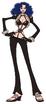 Miss Doublefinger Anime Concept Art