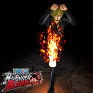 One Piece Burning Blood Sanji (Artwork)