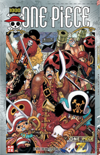 One Piece Tome 1000 Couverture VF Infobox