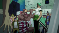 Roronoa Zoro vs. Miss Monday