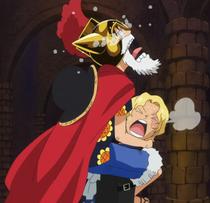 Sabo se encuentra con Luffy