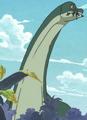 Little Garden Brontosaurus