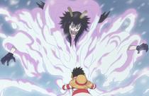 Luffy Menangkap Pengguna Logia